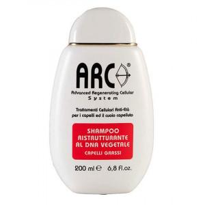 ARC Shampoo Ristrutturante al Dna Vegetale - Capelli Grassi 200ml