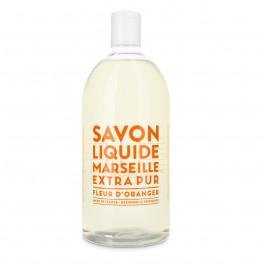 Liquid Saop Marseille Refill - 1L. Fleur d'Oranger