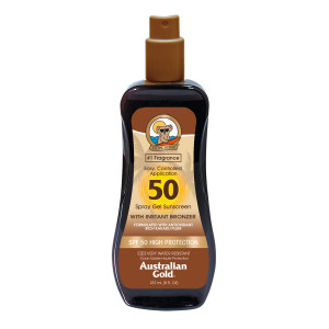 SPF 50 Spray Gel With Bronzer 237ml