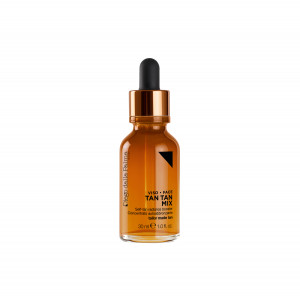 Self-tanning drops face