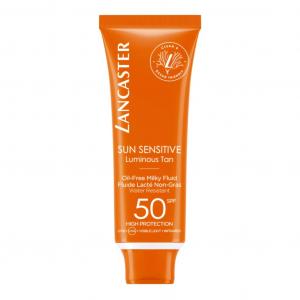 Sun Sensitive Luminous Tan Oil Free Milky Fluid SPF 50 50ml