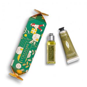 Cofanetto Cracker Verveine gel doccia 30ml + crema mani 30ml