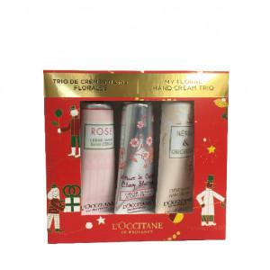 Trio mani box - my floral hand cream trio 30ml
