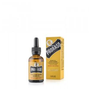 Olio Protettivo per Barba Wood & Spyce 30ml