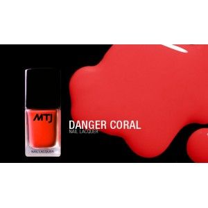 Nail Lacquer - Danger Coral