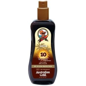 SPF 10 Spray Gel Bronzer