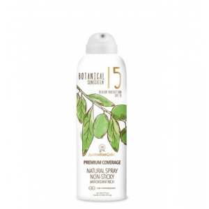 Botanical Premium Coverage SPF 15 Continuous Spray 177 ml