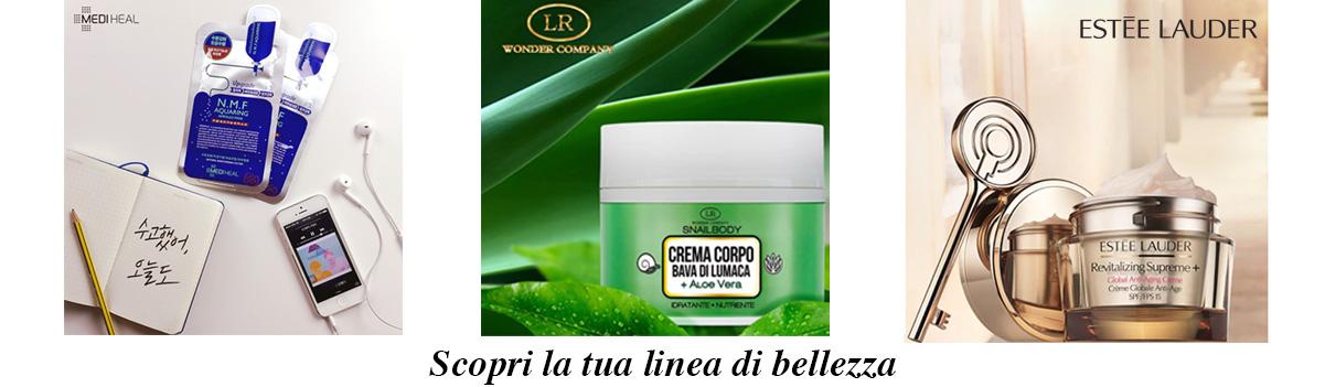 MediHeal LR wonder company estee lauder revitalizing supreme + vittoria profumi cosmetica lusso anti eta anti rughe